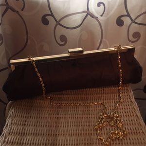 Cache vintage silk clutch
